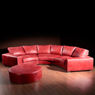 элитный кожаный диван купить